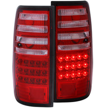 Load image into Gallery viewer, Anzo LED Tail Lights Toyota Land Cruiser FJ82 (1991-1997) Red Clear