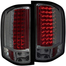 Load image into Gallery viewer, Anzo LED Tail Lights Chevy Silverado 1500 (07-13) 2500HD/3500HD (07-14) Red/Chrome/Black/Smoke