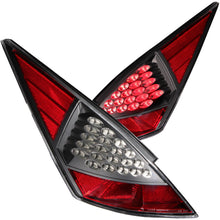Load image into Gallery viewer, Anzo LED Tail Lights Nissan 350Z (2003-2005) Black/Red/Smoke