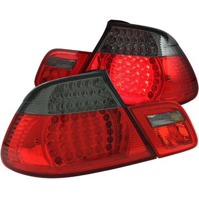 Anzo LED Tail Lights BMW M3 E46 Convertible (2001-2006) Smoke or Clear Lens