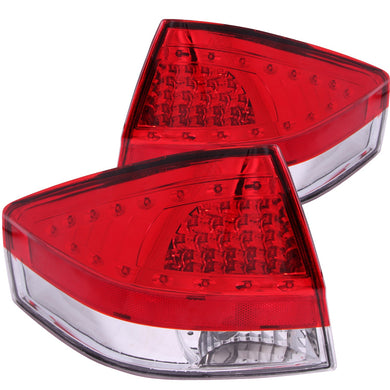 Anzo LED Tail Lights Ford Focus (2008-2011) Red