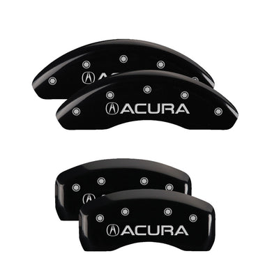 MGP Brake Caliper Covers Acura TL (2004-2008) Red / Yellow / Black