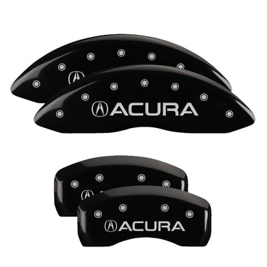 MGP Brake Caliper Covers Acura TL Type-S (2007-2008) Red / Yellow / Black