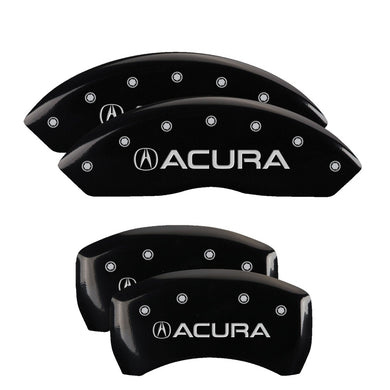 MGP Brake Caliper Covers Acura RLX (2014-2017) Red / Yellow / Black