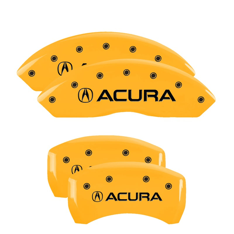 MGP Brake Caliper Covers Acura TLX (2015-2020) Red