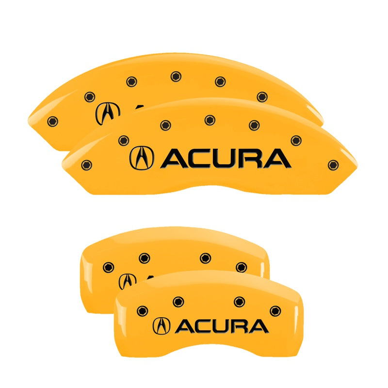 MGP Brake Caliper Covers Acura RDX (2016-2018) Red