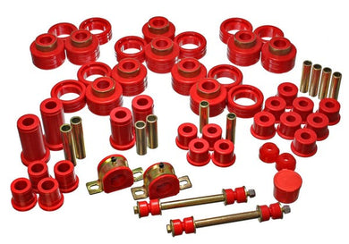 Energy Suspension Hyper-Flex Master Bushing Set GMC Yukon (95-97) Red or Black