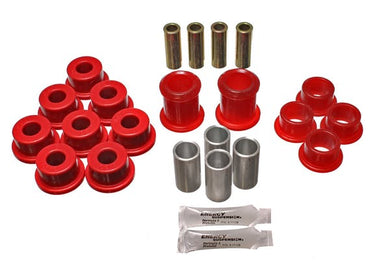 Energy Suspension Front Control Arm Bushings Corvette C4 (84-96) Red or Black