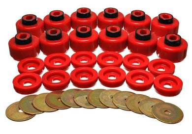 Energy Suspension Body Mount Bushing Set GMC Yukon (00-06) Red or Black