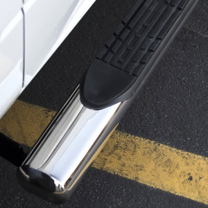 "5/"" Oval Chrome Side Step Bar for 07-18 Chevy Silverado GMC Sierra Extended Cab"