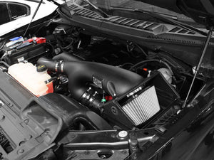 aFe Magnum FORCE Stage-2 Cold Air Intake Ford F150 2.7/3.5 EcoBoost (15-17) Oiled or Dry Filter