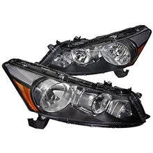 Load image into Gallery viewer, Spec-D OEM Replacement Headlights Honda Accord (2008-2012) Euro Black Housing