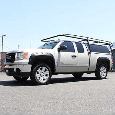Spec-D Fender Flares GMC Sierra [Rugged Offroad Style] (2007-2013) 6.5 or 8' Bed