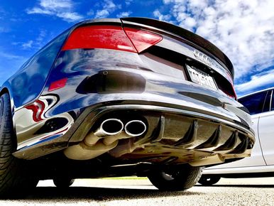 Top Speed Pro 1 Exhaust Audi A7 3.0T Supercharged (2012-2015) S7 Style
