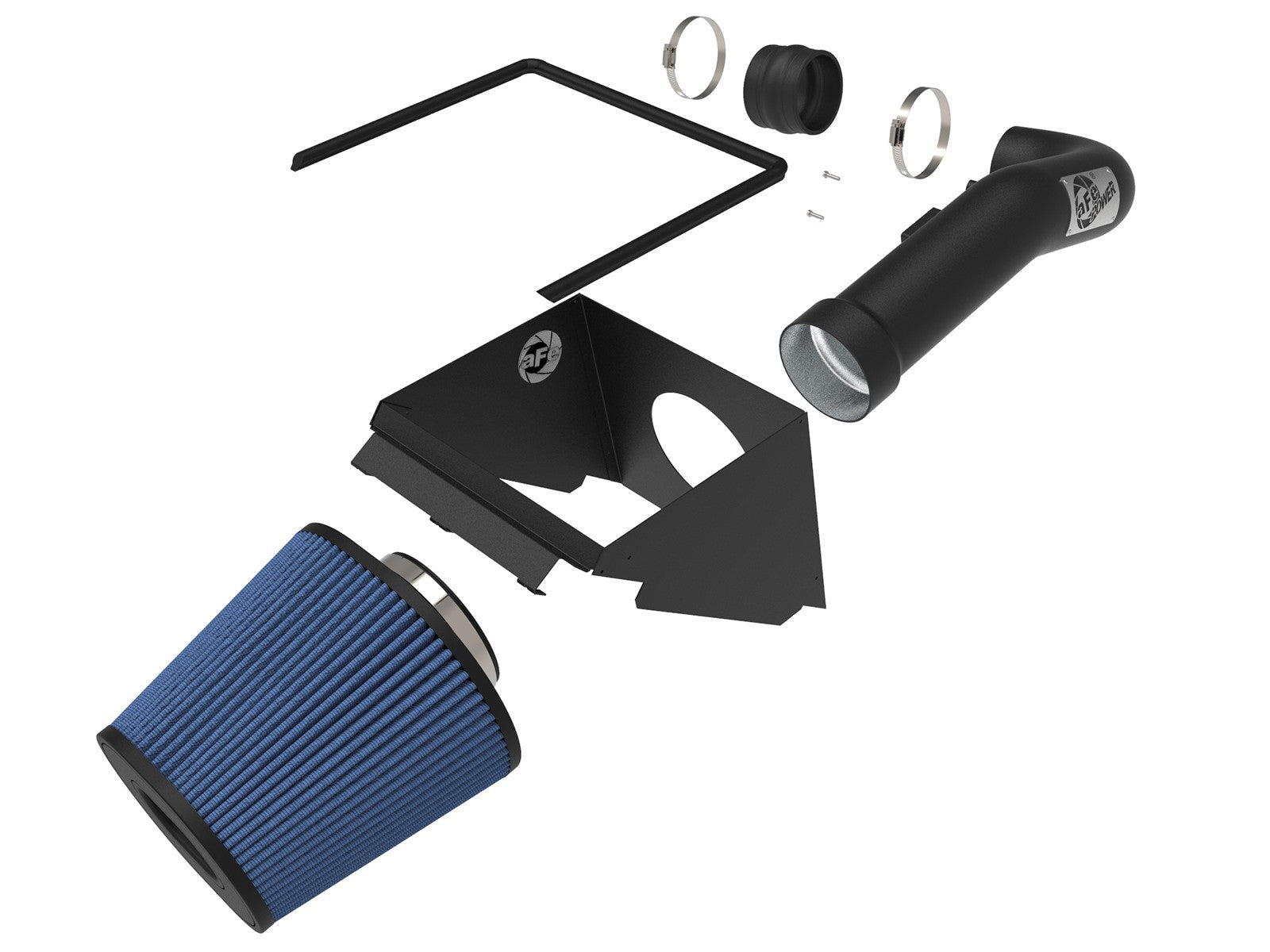 AFE Magnum Force Stage 2 5R Cold Air Intake 14-16 Chevy Silverado 1500 5.3L 6.2L