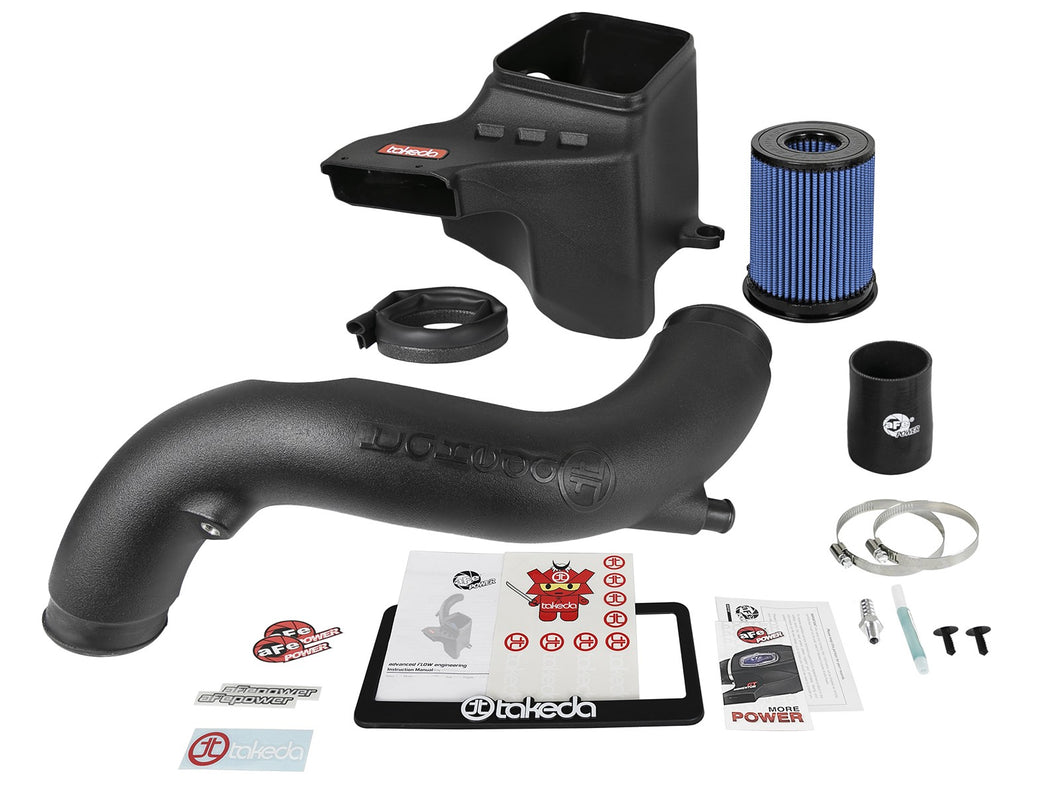 aFe Takeda Stage-2 Cold Air Intake Hyundai Elantra Turbo 1.6T (17-19) Dry or Oiled Air Filter