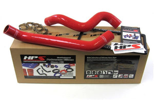 HPS Silicone Radiator Hoses Jeep Wrangler JK 3.8L V6 (07-11) Red / Blue / Black
