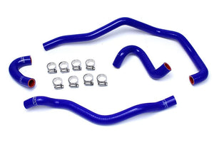 HPS Silicone Radiator + Heater Hoses BMW E46 M3 LHD (01-06) Red / Blue / Black