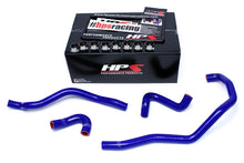 Load image into Gallery viewer, HPS Silicone Radiator + Heater Hoses BMW E46 M3 LHD (01-06) Red / Blue / Black
