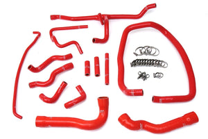 HPS Silicone Radiator + Heater Hoses BMW E36 M3 LHD (96-99) Red / Blue / Black