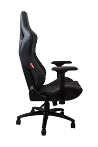 Cipher Office / Gaming Chair [RS Racing Style / Black] Leatherette Carbon Fiber w/ Diamond Stitch