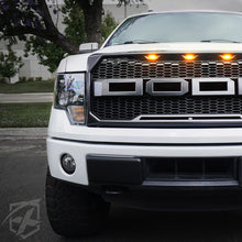Load image into Gallery viewer, Xprite Raptor Style Grill Ford F150 (2009-2014) w/ LED Running Lights