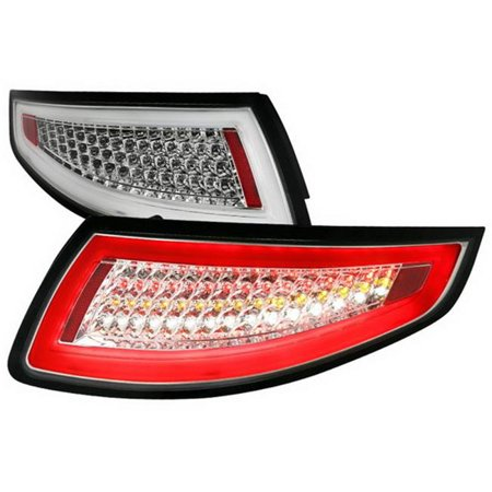 Spec-D Tail Lights Porsche 911 997 [LED] (05-09) Clear / Red / Smoked