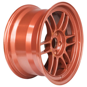 Enkei RPF1 Wheels (17x9) [Orange +35mm Offset] 5x114.3