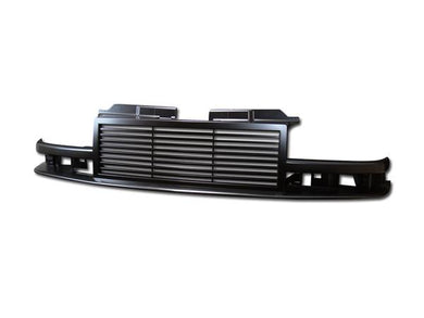 Armordillo Grill Chevy Blazer [Horizontal] (94-04) Gloss Black / Chrome / Matte Black