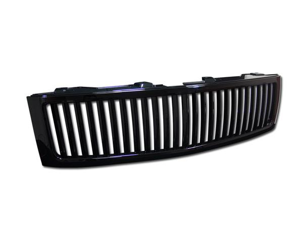 Armordillo Grill Chevy Silverado 1500 [Vertical] (07-13) Gloss or Matte Black