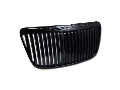 Armordillo Grill Chrysler 300/300C [Vertical] (11-14) Gloss Black / Chrome / Matte Black
