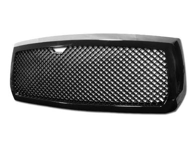 Armordillo Grill Dodge Dakota [Mesh Type] (05-07) Gloss Black / Chrome / Matte Black