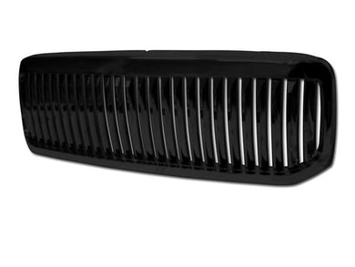 Armordillo Grill Ford F250/F350/F450 Super Duty [Vertical] (99-04) Gloss Black / Chrome / Matte Black