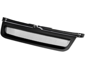 Armordillo Grill VW Jetta [Mesh Type] (99-04) Gloss Black / Chrome / Matte Black