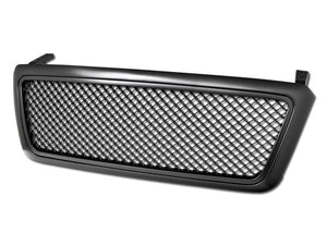 Armordillo Grill Ford F150 [Mesh Type] (04-08) Gloss Black / Chrome / Matte Black