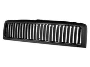 Armordillo Grill Dodge Ram 1500 [Vertical] (94-01) Gloss Black / Chrome / Matte Black