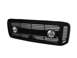 Armordillo Grill Ford F250/F350/F450 Super Duty [Horizontal] (99-04) Gloss Black