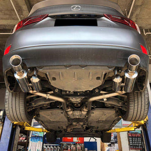 Rev9 Axleback Exhaust Lexus IS200t / IS250 / IS300 / IS350 (2014-2016) CB-024