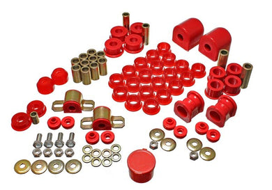 Energy Suspension Hyper-Flex Master Bushing Set Nissan Sentra (91-94) Red or Black