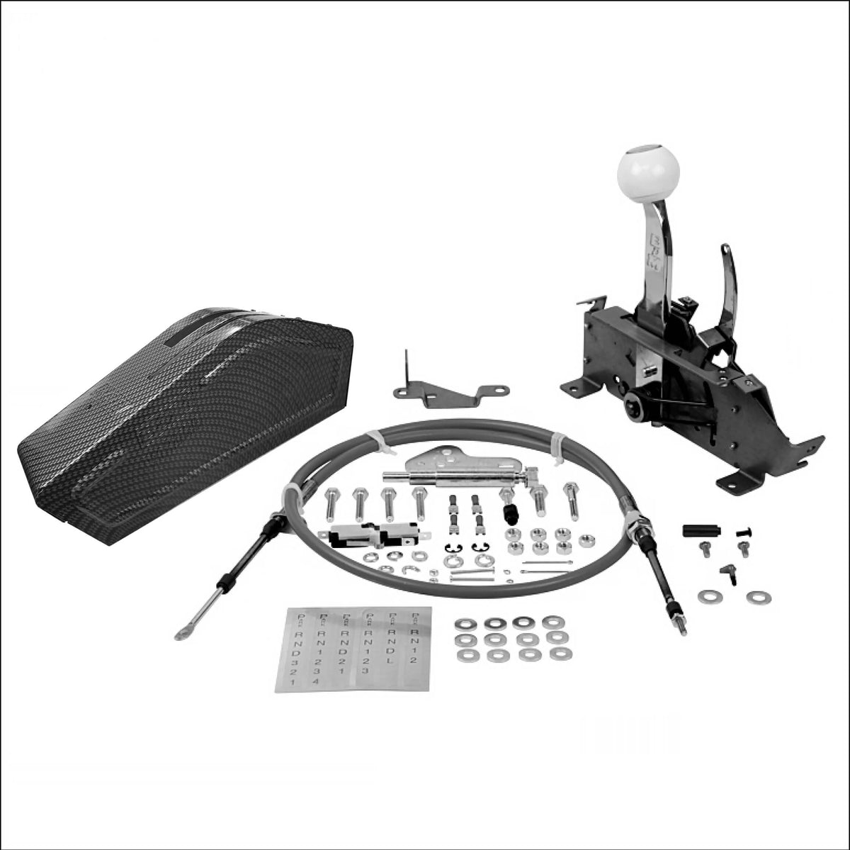 B&M Pro Ratchet Automatic 3 & 4-Speed Shifter Cadillac