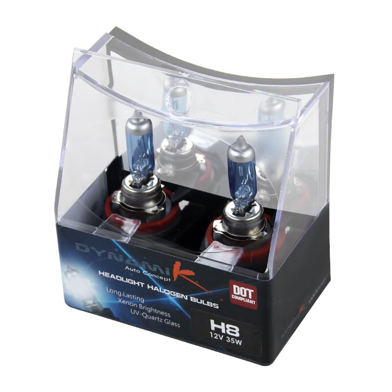 H8 Halogen Headlight Bulbs (Pair) 4200k - 12V 35W