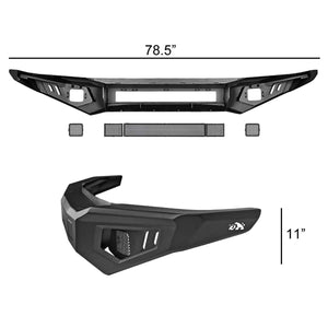 Bulken Off Road Front Bumper Toyota Tundra (2014-2020) Rugged Steel