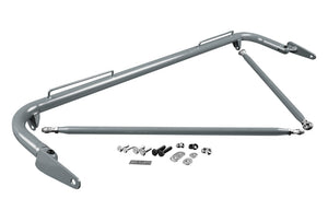 BRAUM Harness Bar Honda Civic/CRX EF (88-89) Black / Red / White / Space Gray