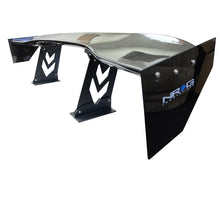 "Load image into Gallery viewer, NRG Carbon Fiber Spoiler / Wing (59"" x 11"") CARB-A590NRG"