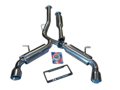 Top Speed Pro 1 Exhaust BRZ / FRS / 86 (13-19) Stainless or Titanium Catback