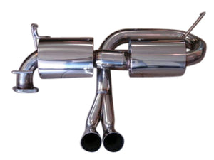 Top Speed Pro 1 Exhaust Toyota MR2 Spyder (2000-2005) Lotus Style Dual Muffler