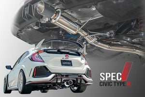 Remark Exhaust Honda Civic Type-R (2017-2019) Single Muffler / Tip