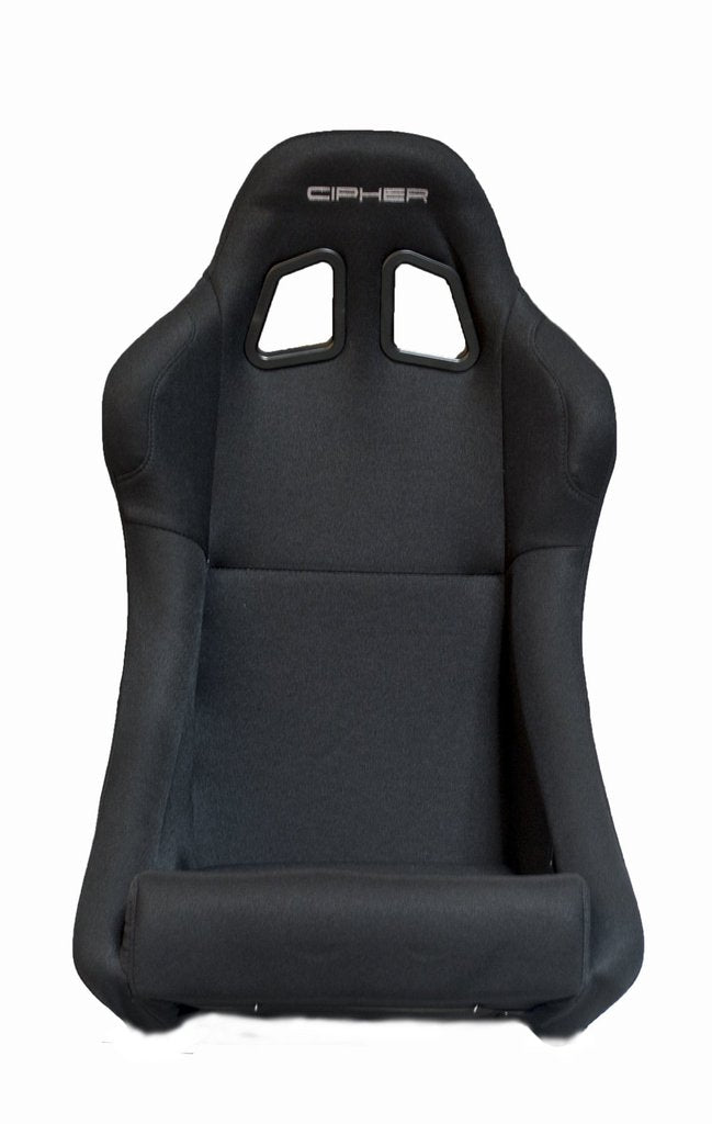 Cipher Auto Full Bucket Racing Seats (Black Fabric) CPA1005FBK