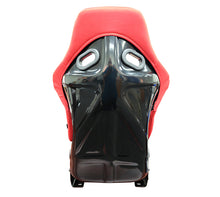 Load image into Gallery viewer, NRG Racing Seats (Large - Black/Red - Fiberglass Bucket) FRP-300