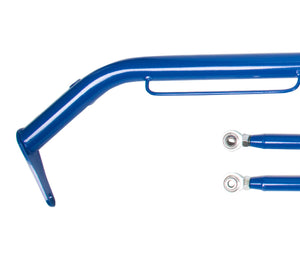 NRG Seat Belt Race Harness Bar Acura Integra GS/LS/RS/GSR (94-01) Blue/Titanium